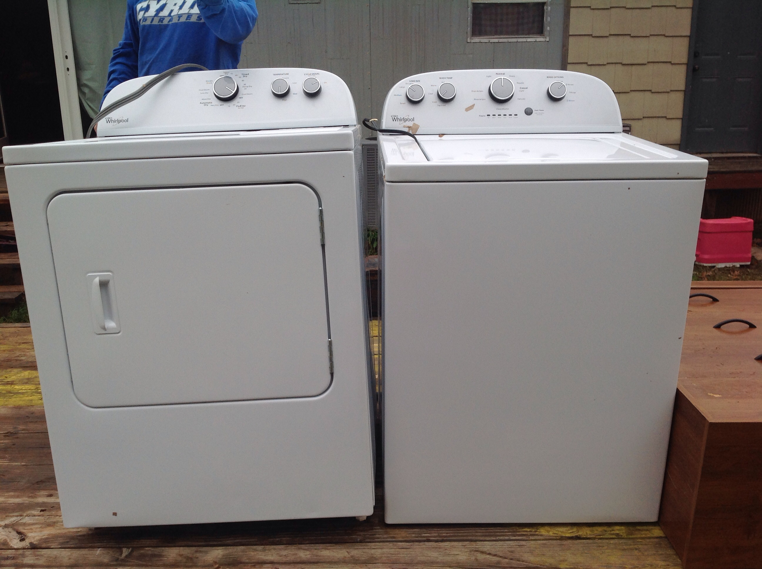 Like new whirlpool washer and dryer