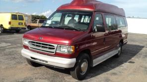 2001 FORD E-350 HANDICAP VAN W/ ** POWER WHEEL CHAIR LIFT** $$8450 OBO