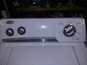 Whirlpool Super capacity plus washer and dryer set