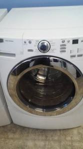 SUPER CLEAN FRONT LOADER MAYTAG WASHER AND WHIRLPOOL DRYER