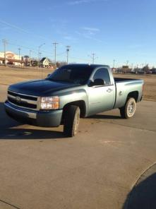 2007 short wide bed pickup Chevrolet